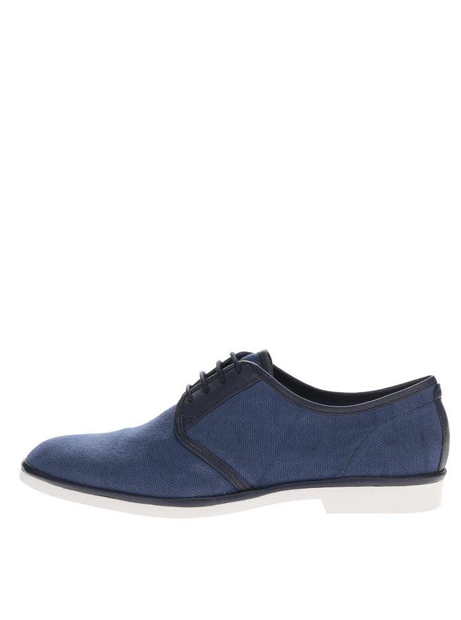 Pantofi bleumarin Vagabond Pablo cu detalii din piele