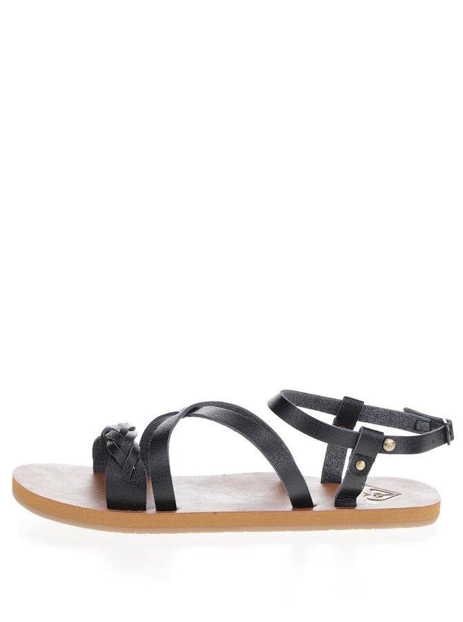 Černé sandály Roxy Britney