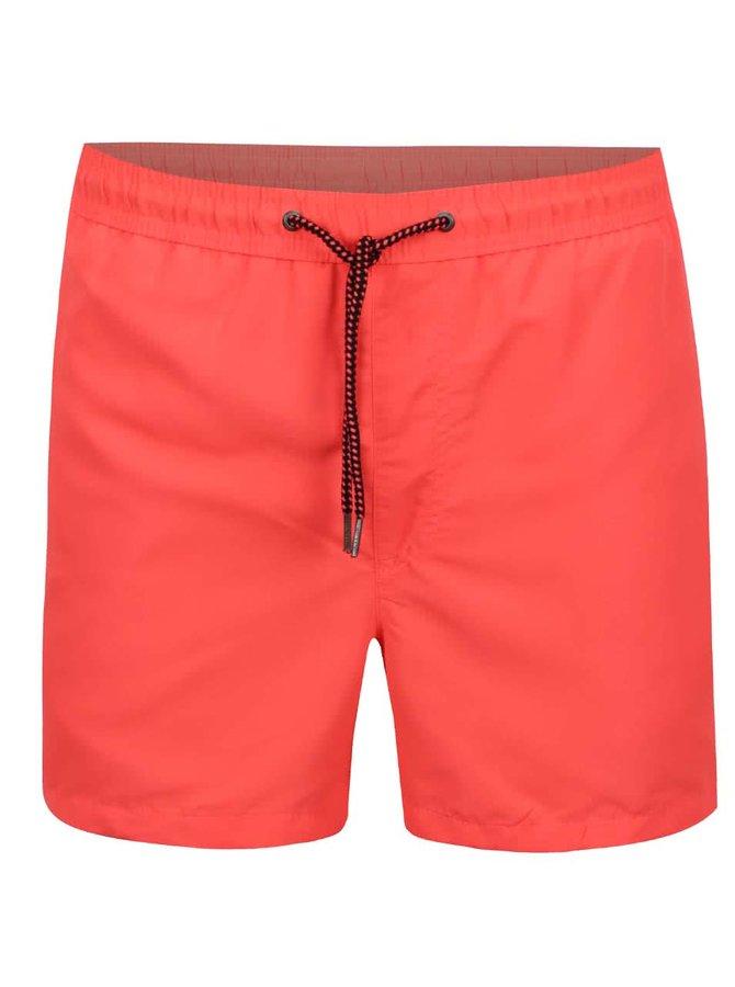 Oranžové pánské plavky Jack & Jones Sunset