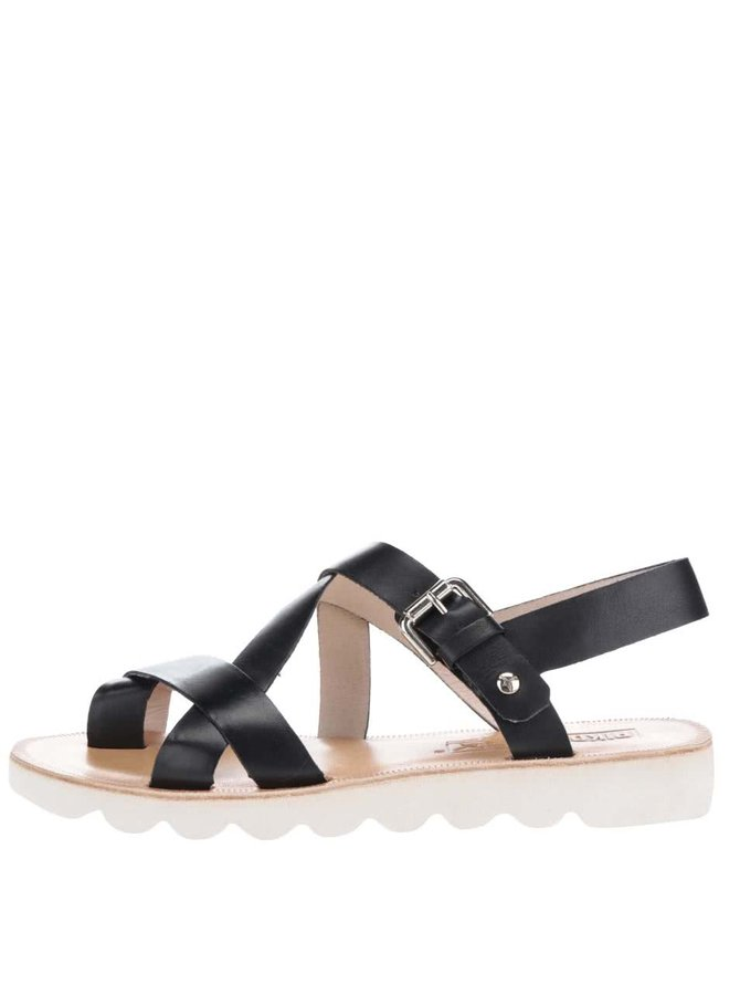 Sandale negre Pikolinos Albufera din piele