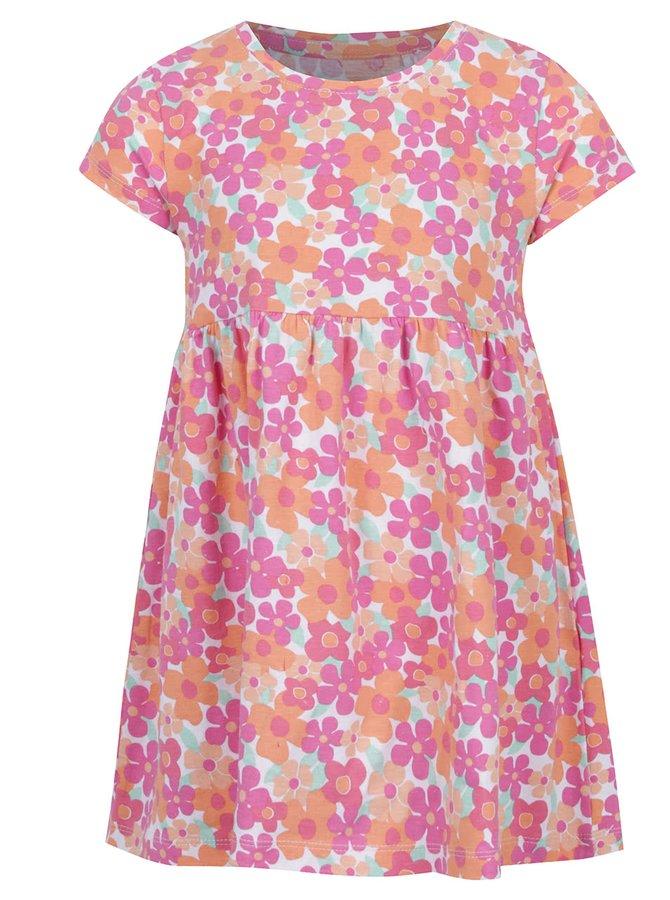 Oranžové květované šaty 5.10.15.