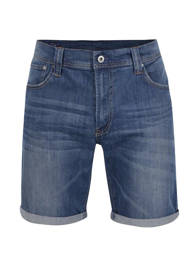 Modré pánské džínové kraťasy Pepe Jeans Cane
