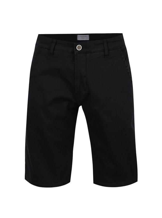 Pantaloni scurți chino negri Lindbergh