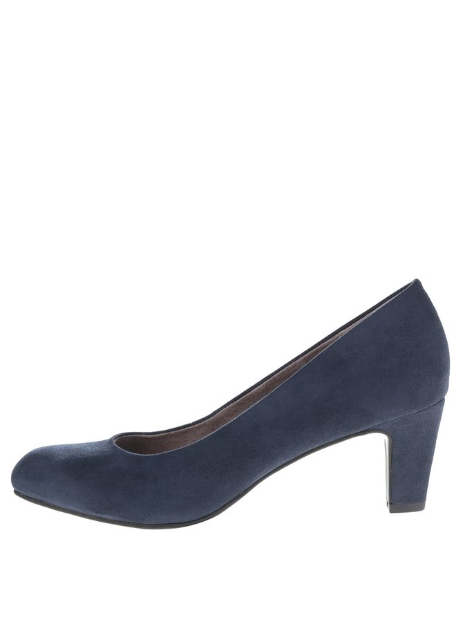 Pantofi albastru închis Tamaris cu toc