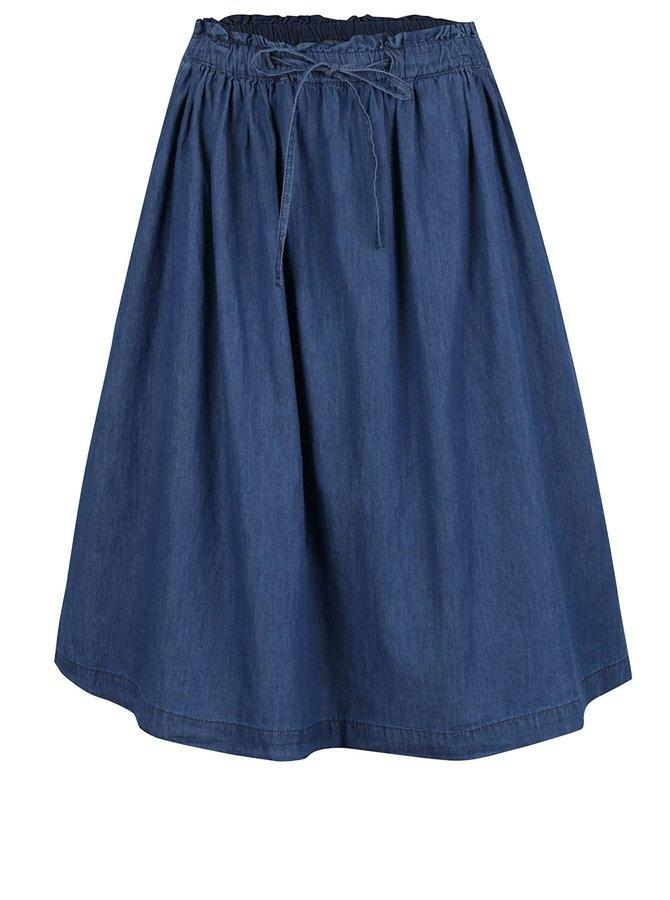 Modrá džínová sukně ONLY Sam