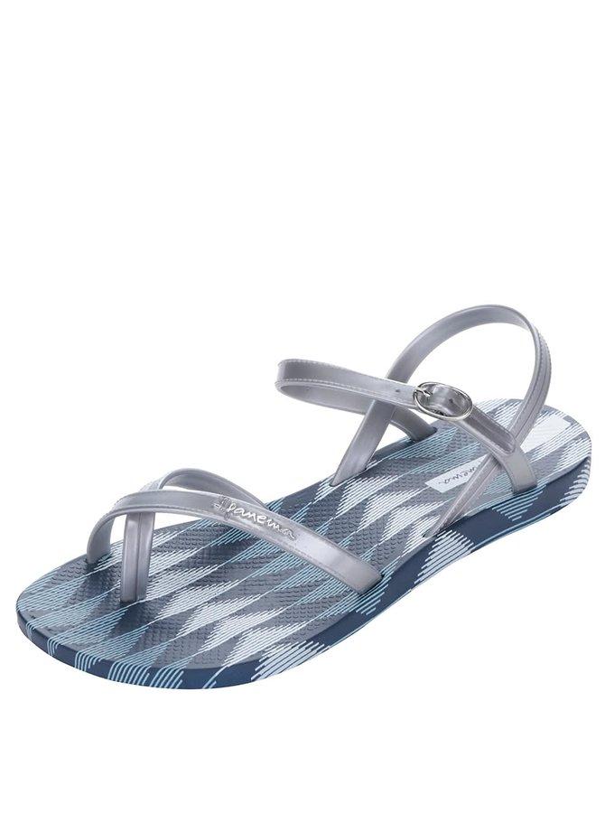 Sandale flip-flop albastru & gri Ipanema Sandal