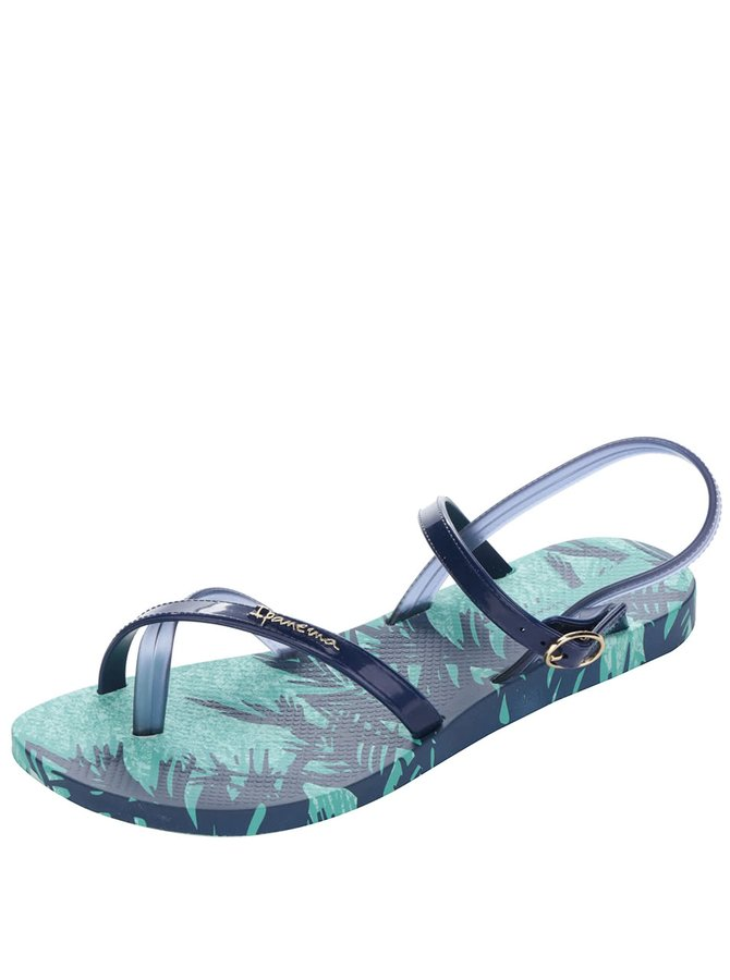 Modré dámské páskové sandály Ipanema Sandal