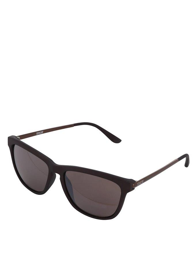 Hnědé pánské sluneční brýle Dice