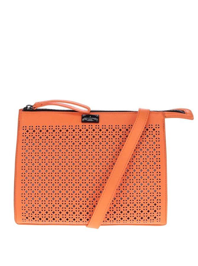 Neonově oranžová crossbody kabelka Paul's Boutique Mia