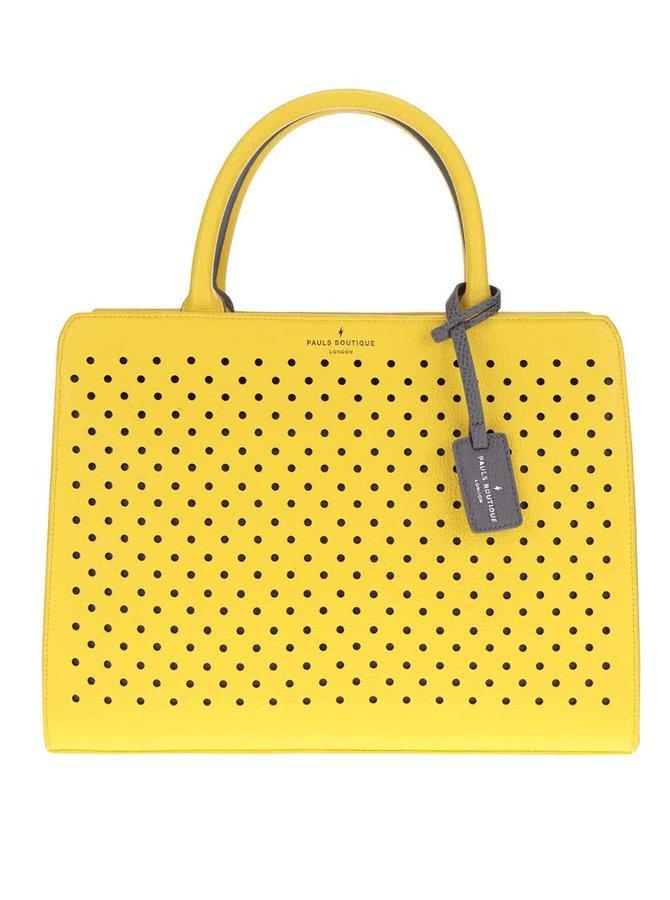 Žlutá kabelka do ruky Paul's Boutique Mabel