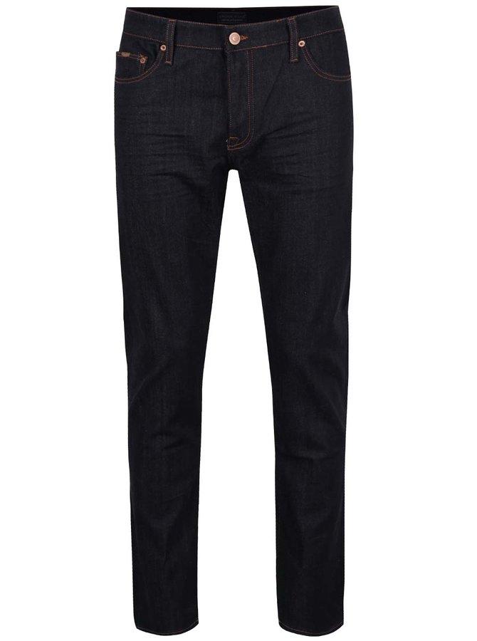 Tmavě modré pánské džíny Cross Jeans Tapered