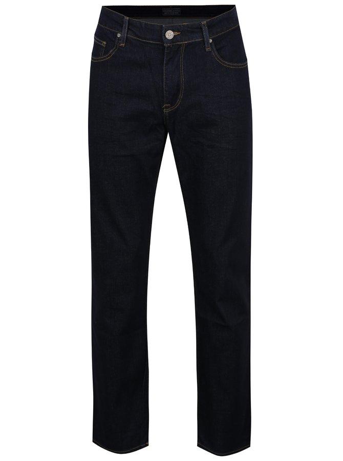 Blugi albastru închis Cross Jeans Antonio cu croi drept