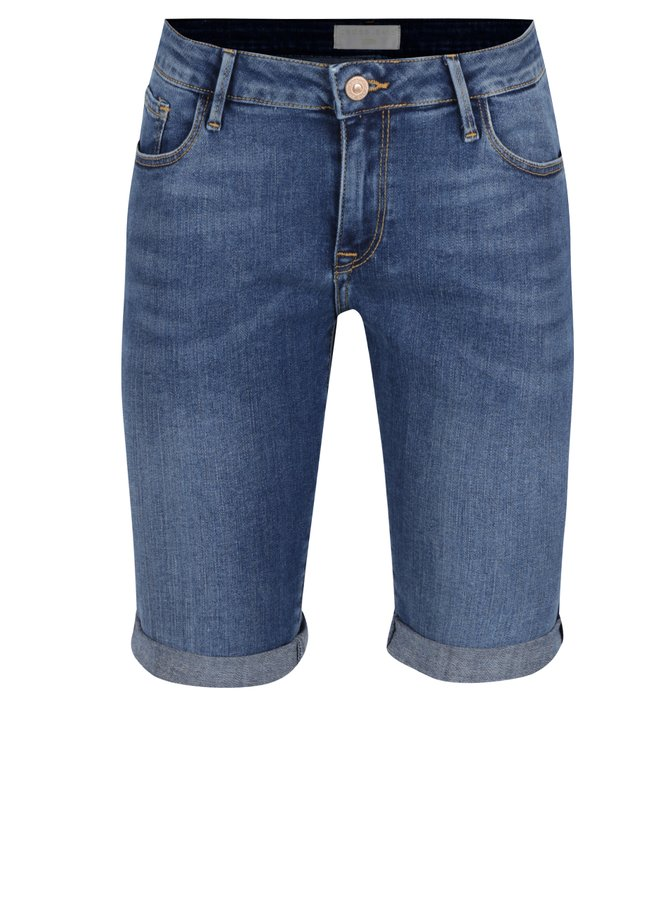 Pantaloni scurți albaștri Cross Jeans din denim