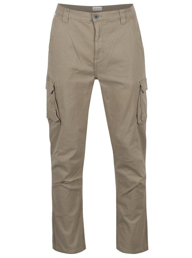 Béžové kalhoty s kapsami Shine Original