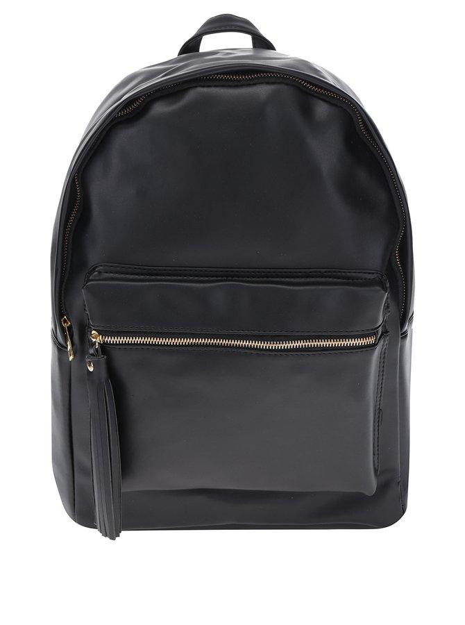 Černý dámský batoh s třásní ZOOT