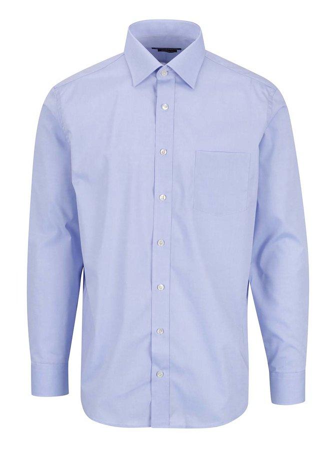 Světle modrá modern fit pánská košile STEVULA