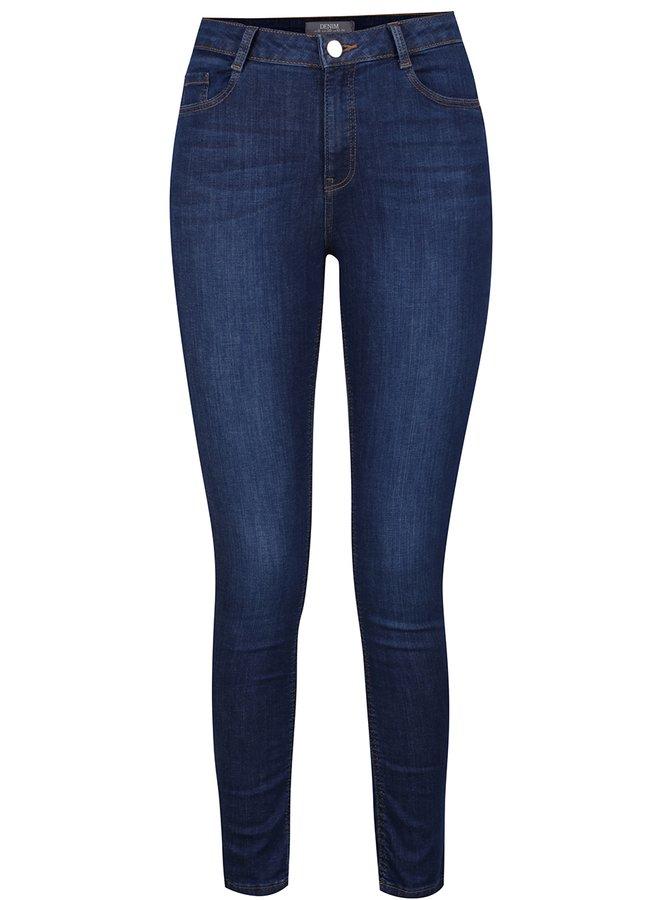Tmavě modré džíny Dorothy Perkins