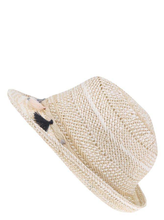 Krémový klobouk s detaily Dorothy Perkins
