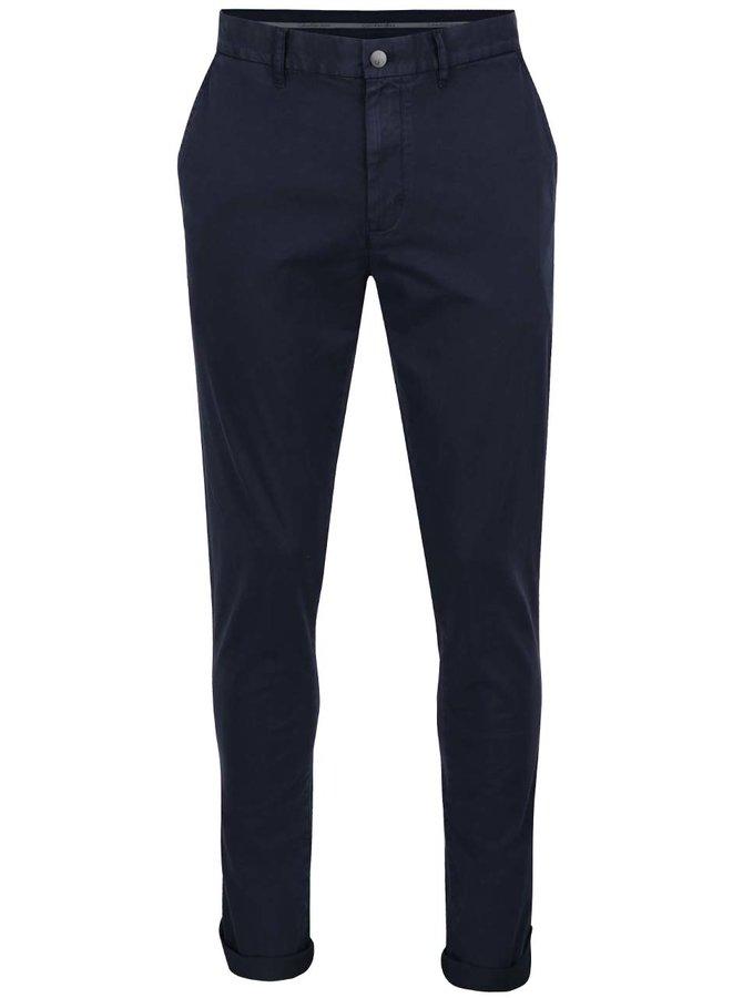 Tmavě modré pánské chino kalhoty Calvin Klein Jeans