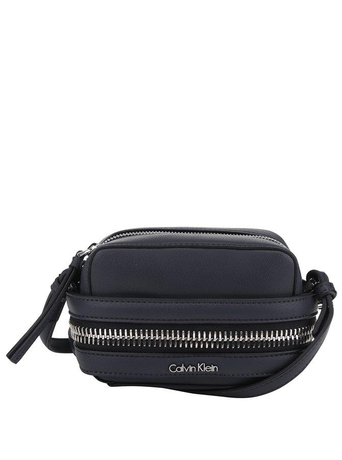 Šedá malá crossbody kabelka Calvin Klein Jeans Lucy