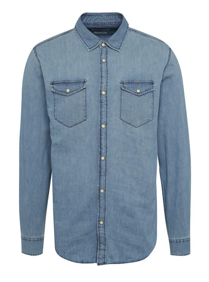 Světle modrá džínová slim fit košile Jack & Jones One