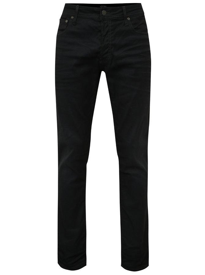 Černé slim džíny Jack & Jones Tim