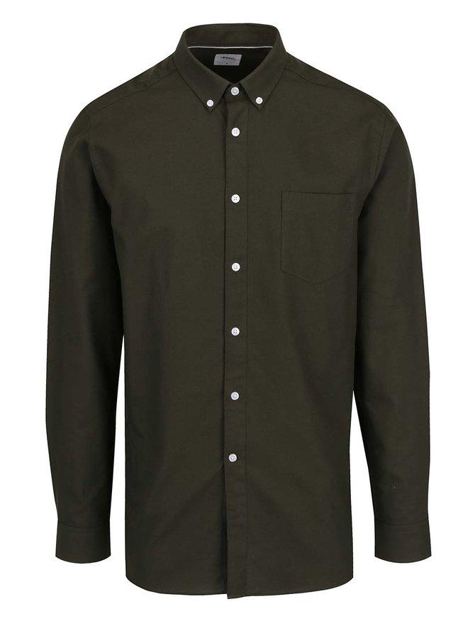 Khaki košile Burton Menswear London