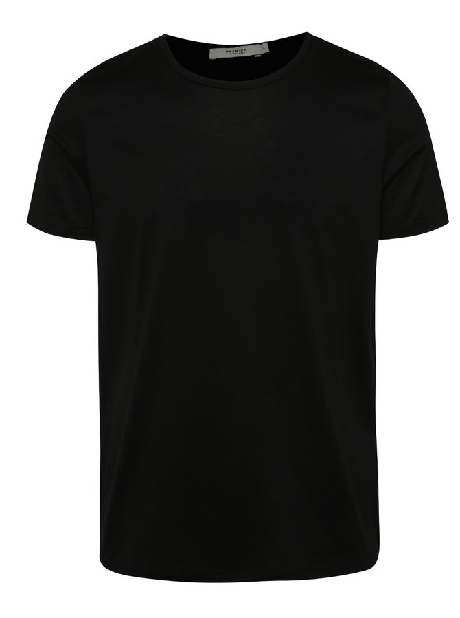 Tricou negru Jack & Jones Merce din bumbac