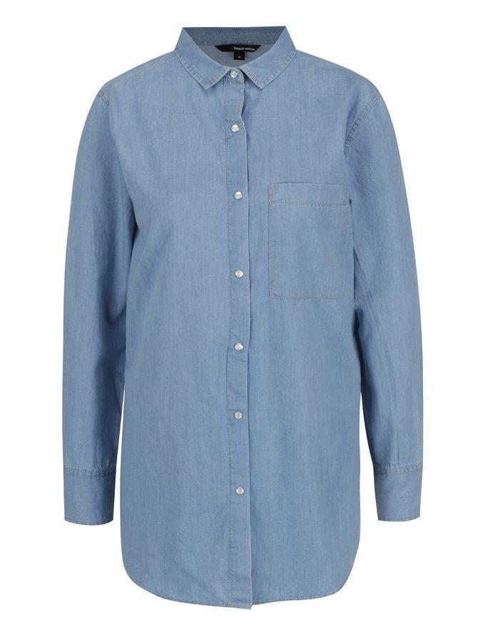 Modrá džínová košile TALLY WEiJL