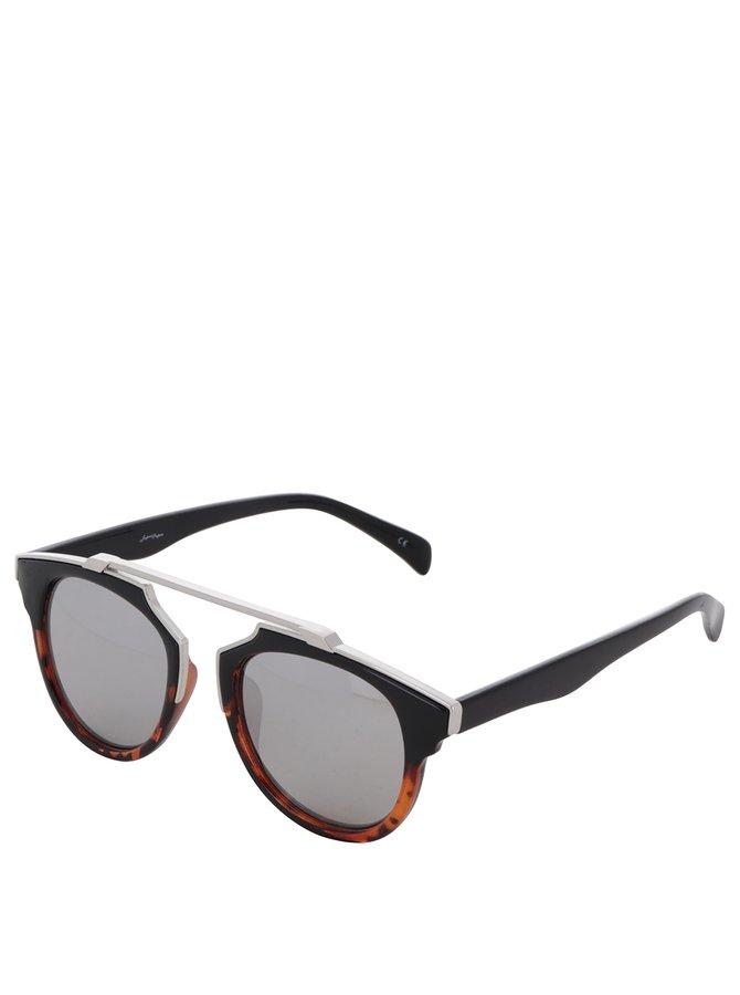 Černé vzorované brýle Jeepers Peepers