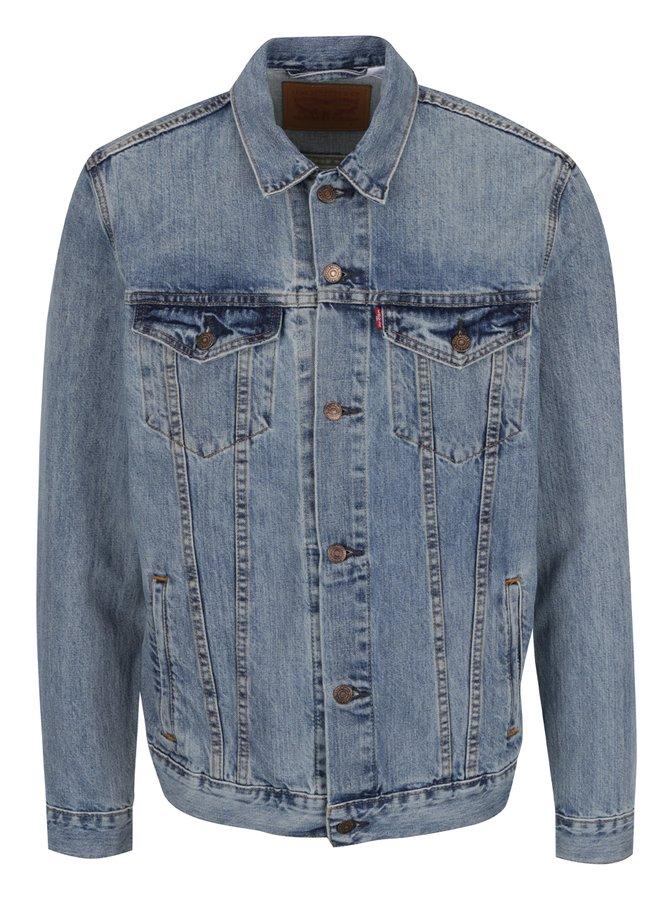 Jachetă albastru deschis Levi's® The Trucker pentru bărbați