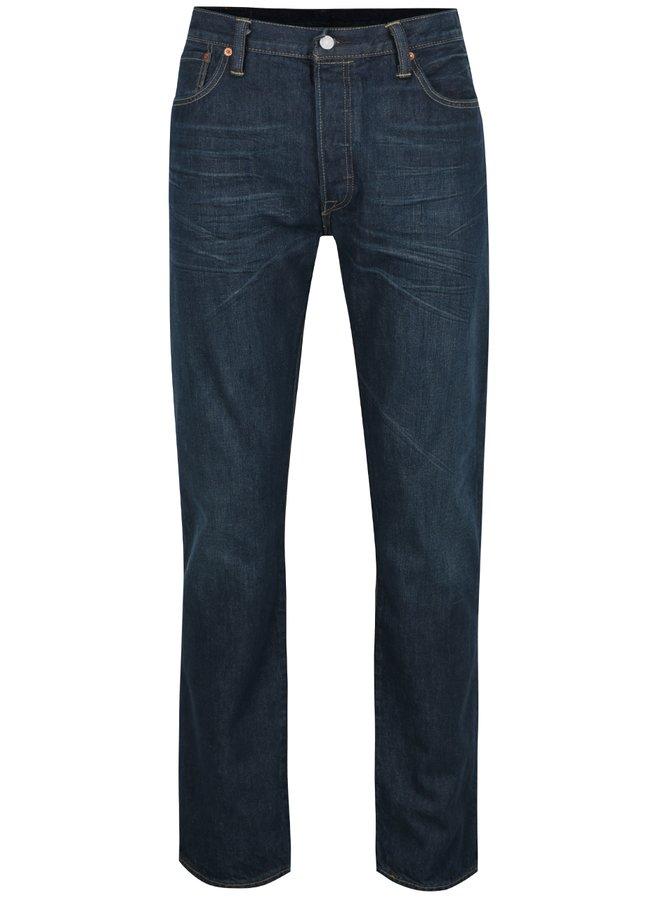 Tmavě modré pánské džíny Levi's® 501™