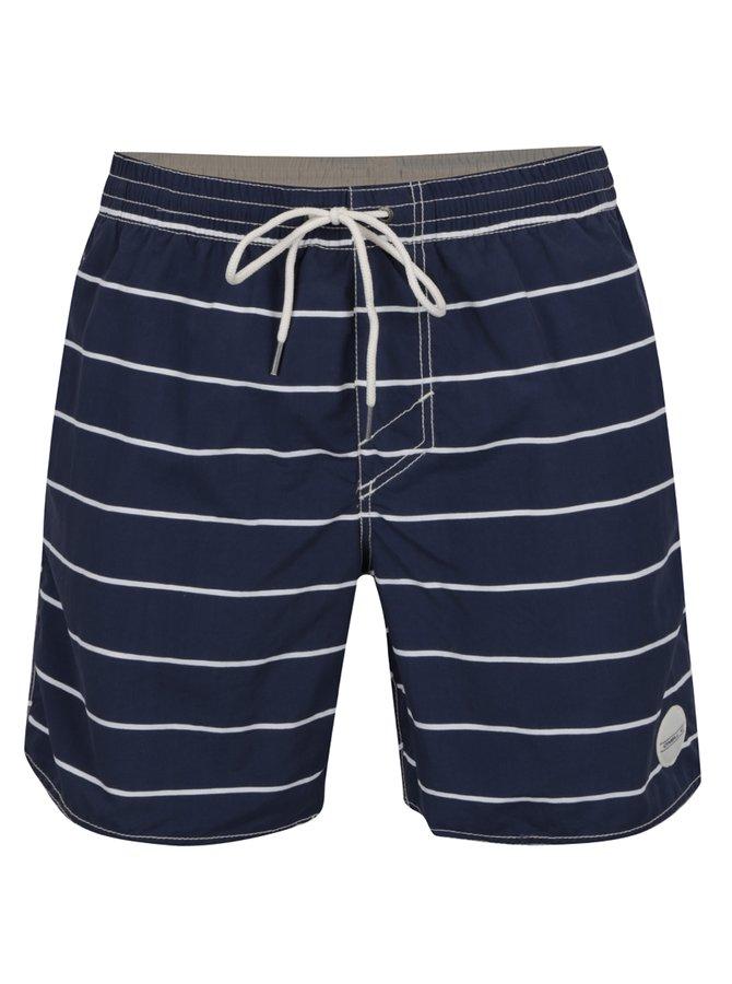 Modré pruhované pánské plavky O'Neill