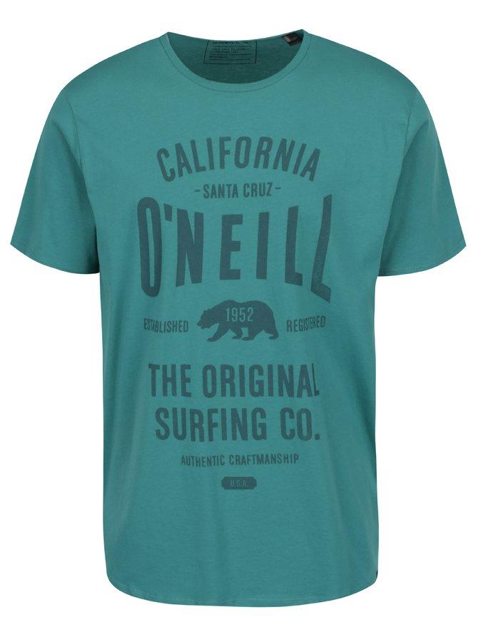 Zelené pánské triko s potiskem O'Neill