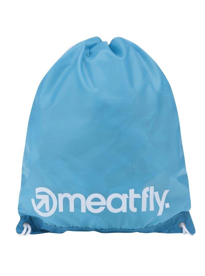 Rucsac albastru MEATFLY Flatout cu logo