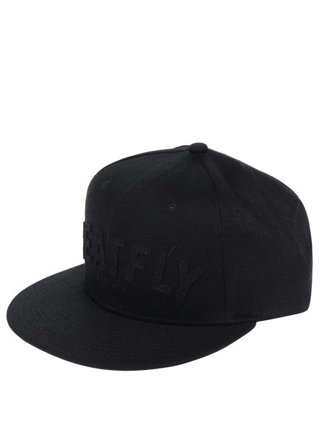 Černá pánská kšiltovka MEATFLY District 17
