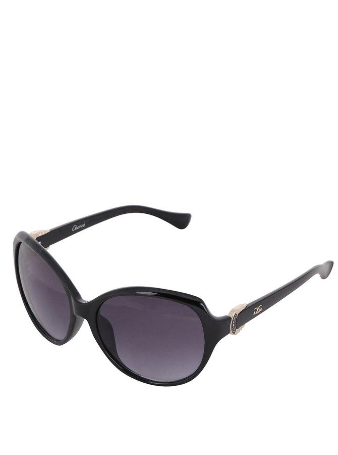 Ochelari de soare eleganți Gionni pentru femei - negru