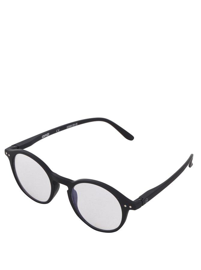 Černé pánské ochranné brýle k PC IZIPIZI