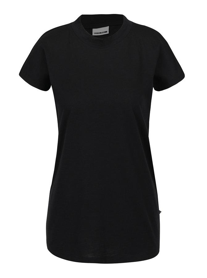 Černé volné tričko Noisy May Abia