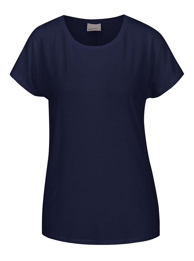 Tricou bleumarin basic VERO MODA Charly