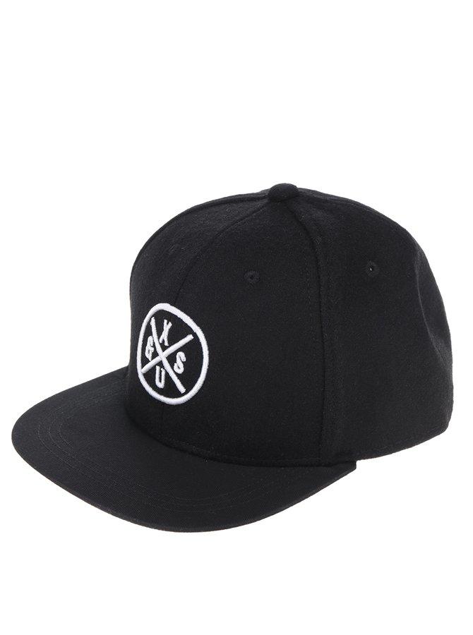 Șapcă neagră ONLY & SONS Snap cu print