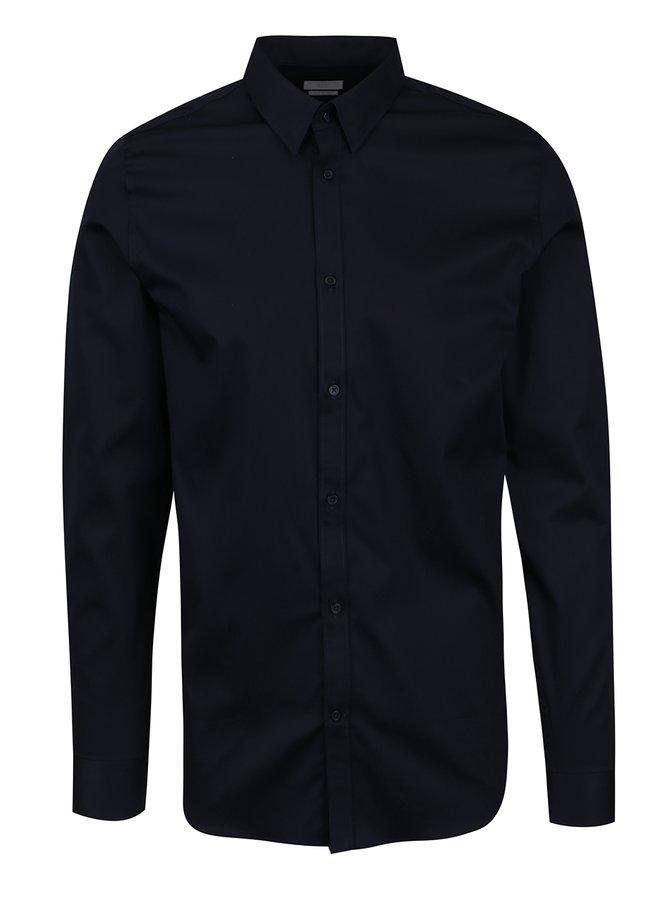 Tmavě modrá slim fit košile Selected Homme Done
