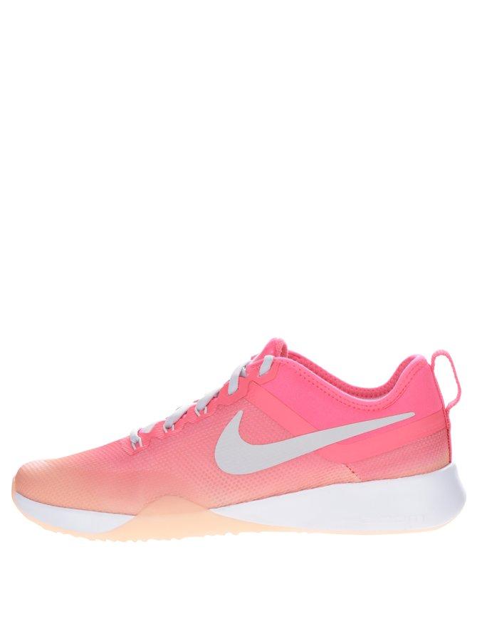 Růžovo-oranžové dámské tenisky Nike Air Zoom