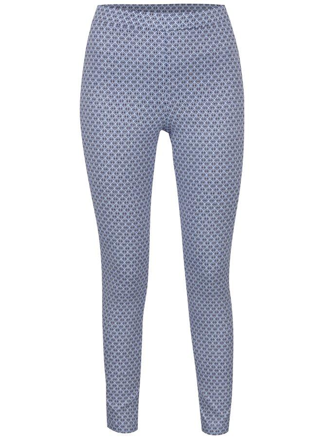 Colanți albaștri Dorothy Perkins Tall  cu model geometric