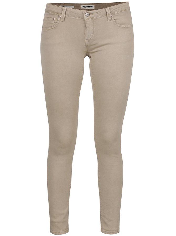Béžové skinny džíny TALLY WEiJL