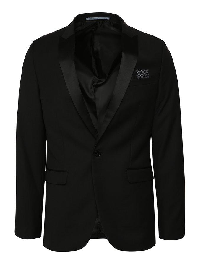 Sacou negru slim Burton Menswear London