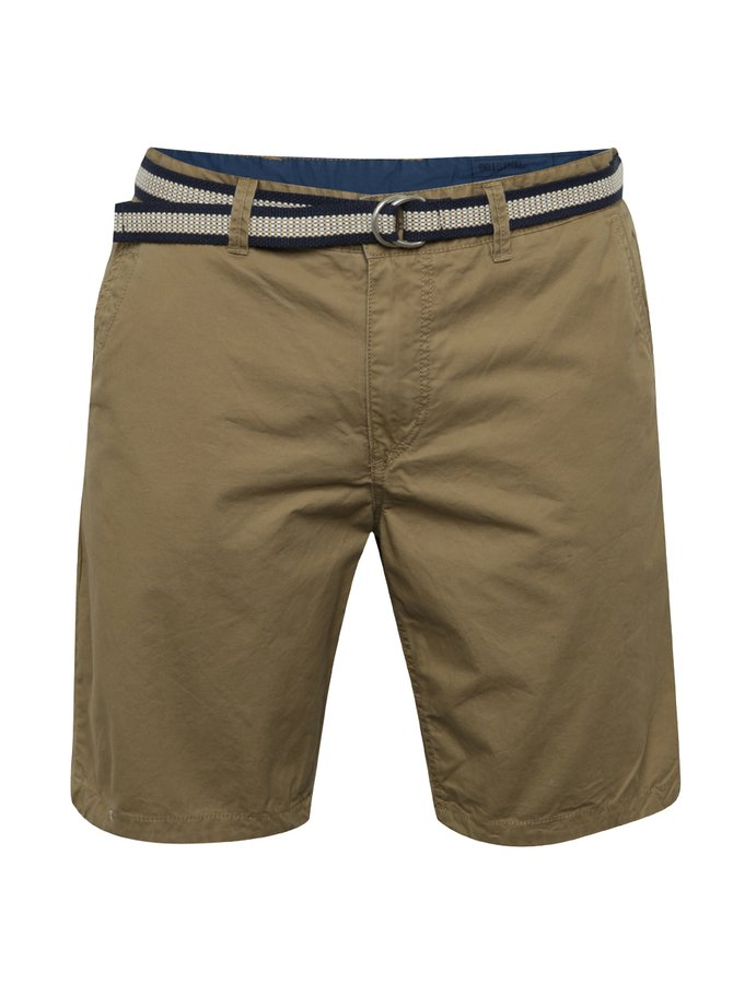 Pantaloni scurți maro Blend din bumbac