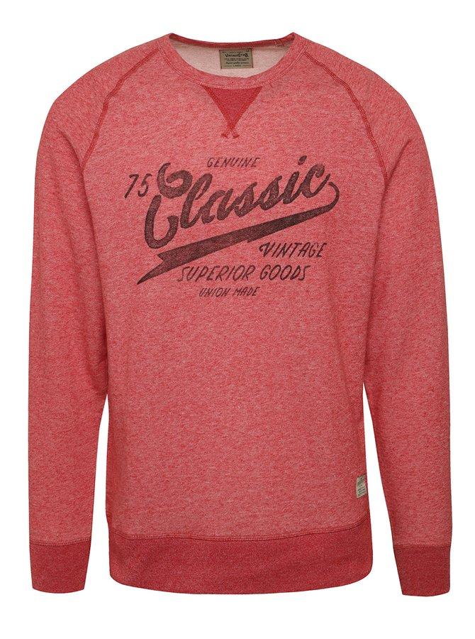 Bluză sport roșu melanj Jack & Jones Denley