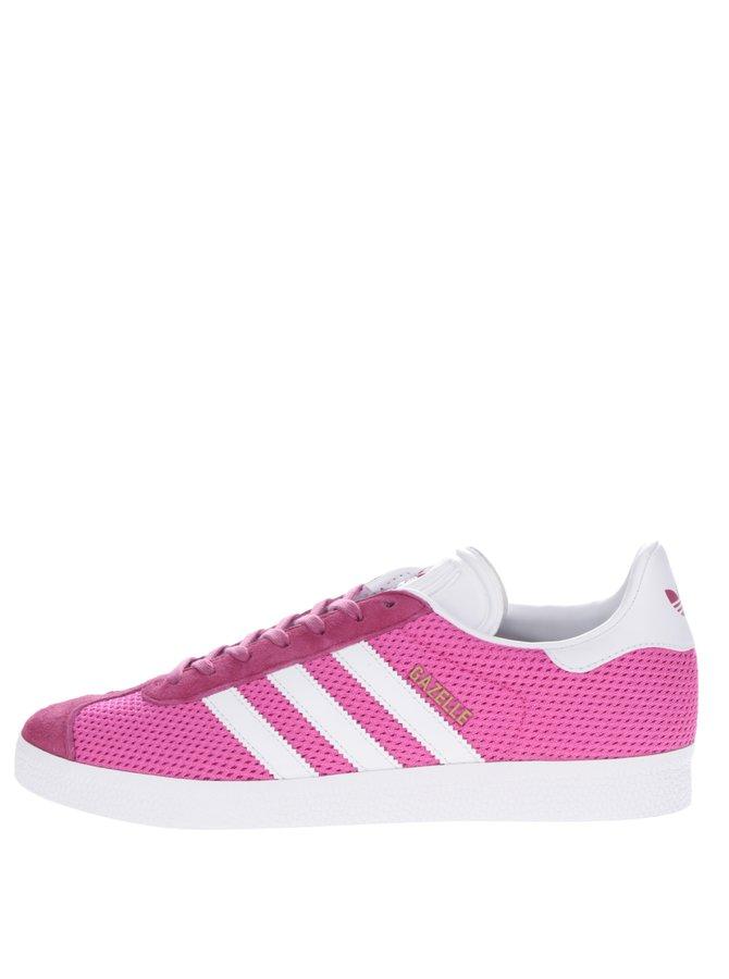 Pantofi sport roz pentru femei adidas Originals Gazelle
