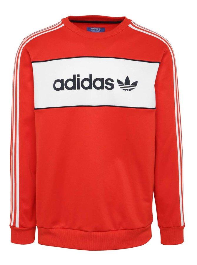 Hanorac roșu adidas Originals